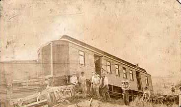 Unidentified train crash