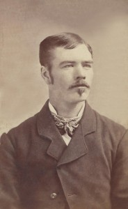 A photo of C.M. France as a young man