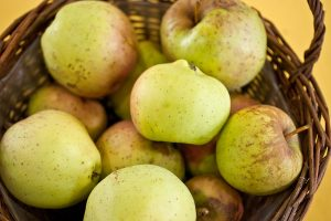 Yellow Belleflower apples